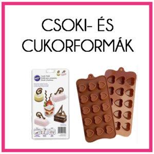 Csoki- és cukorformák