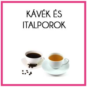 Kávék és italporok