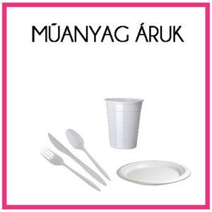 Műanyag áruk