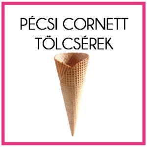 Pécsi Cornett tölcsérek