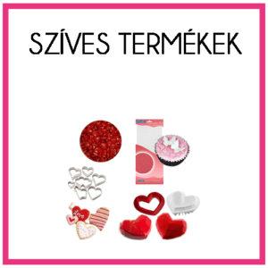 Szerelmes, szíves termékek