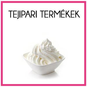 Tejipari termékek, növényi habalapok