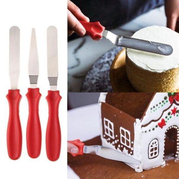 cukrászdiszkont spatula kenőkés 3db-os