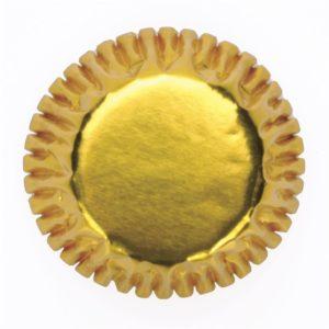 cukrászdiszkont muffin papír mini arany