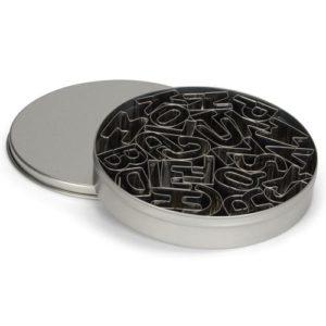 cukrászdiszkont betű kiszúró fém