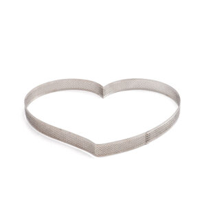 cukrászdiszkont perforált tart forma szív