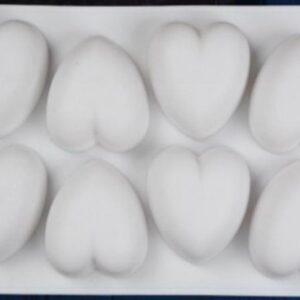 cukrászdiszkont szilikon szív sütőforma