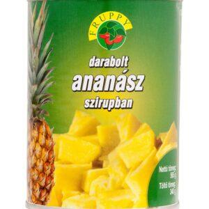 cukrászdiszkont ananász konzerv darabolt fruppy