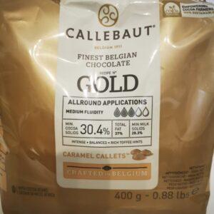cukrászdiszkont callebaut gold fehércsokoládé 400gr