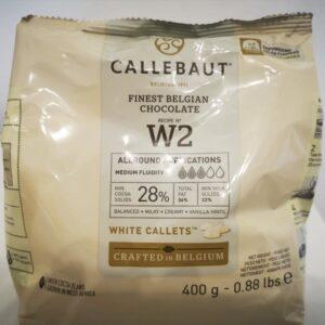 cukrászdiszkont callebaut fehércsokoládé 28% 400gr