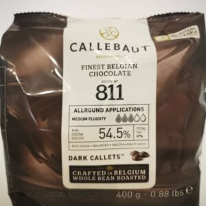 cukrászdiszkont callebaut étcsokoládé 54,5% 400gr