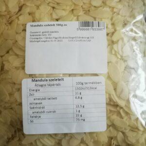 cukrászdiszkont szeletelt mandula 400gr